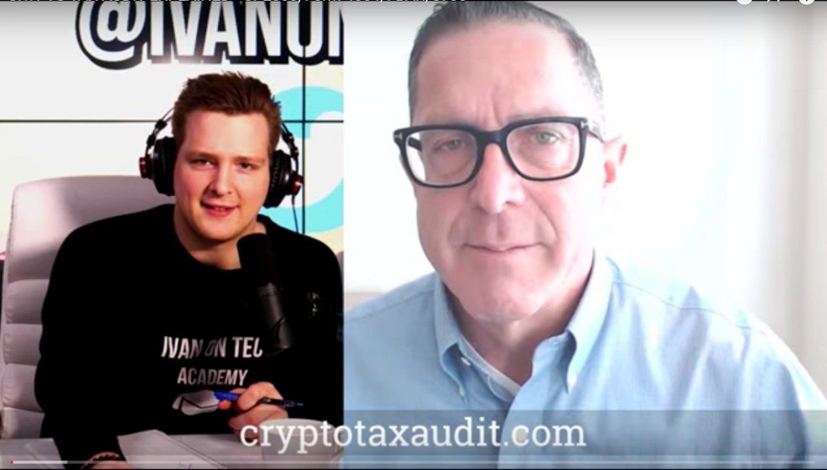Crypto Tax Audit Explained – Interview Video & Transcript on Ivan On Tech