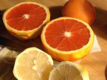 Orange and lemons for Gluhwein.