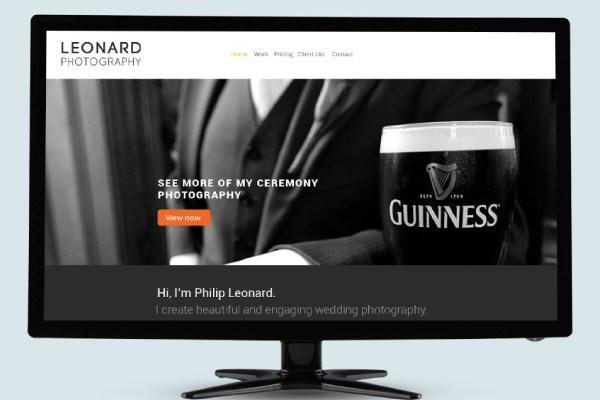 Leonard Photography Website