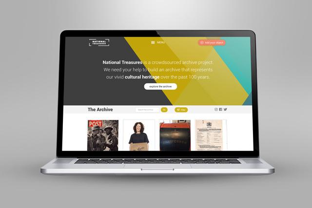 National Treasures website