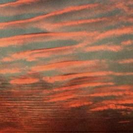 tiered sunset