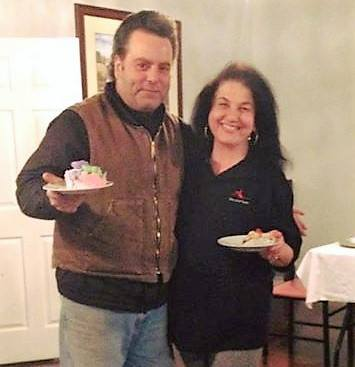 Don D'Orazio, founder of Don of All Trades Professional Home Maintenance Services with Yolanda D'Orazio, Volunteer Coordinator of the Helping Hands Building Trees of Hope Program