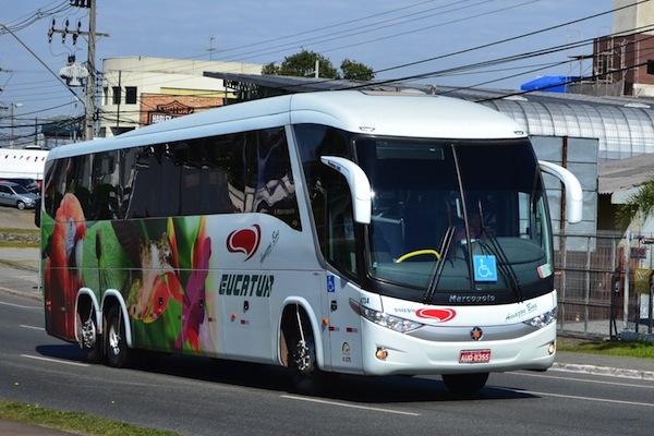 nova linha de ônibus EUCATUR Eucatur: passagem e horário de ônibus