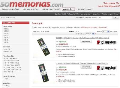 So 252520Memorias Site Só Memórias.com, Comprar Memória Para Computador, Preços