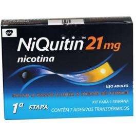 NiQuitin NiQuitin Adesivo Para Deixar de Fumar