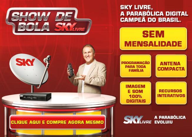 SKY Livre Conheça a Antena SKY Livre