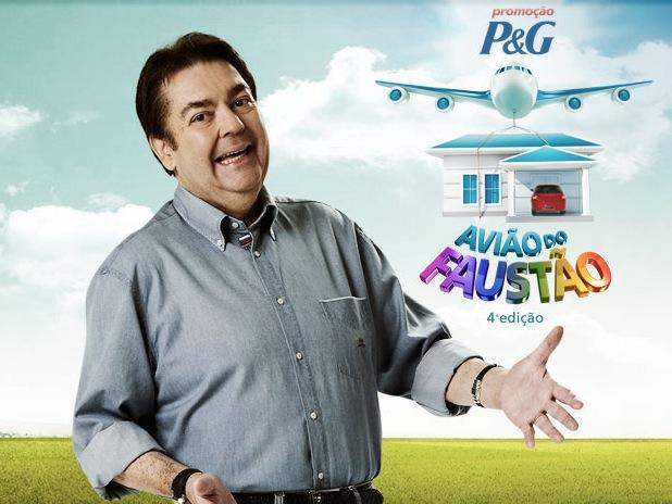 promocao aviao faustao 20121 Promoção P&G Avião do Faustão, Como Participar, Prêmios