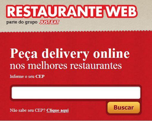 RestauranteWEB Delivery Pedir Comida Online RestauranteWEB - Delivery - Pedidos de Comida Pela Internet