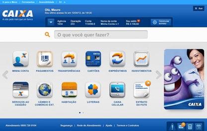 internet bankin caixa interface CAIXA Banking Internet - desbloqueio do usuário