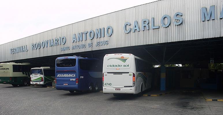Telefone do Terminal Rodoviário de Santo Antônio de Jesus BA Passagens Telefone do Terminal Rodoviário de Santo Antônio de Jesus, BA – Passagens