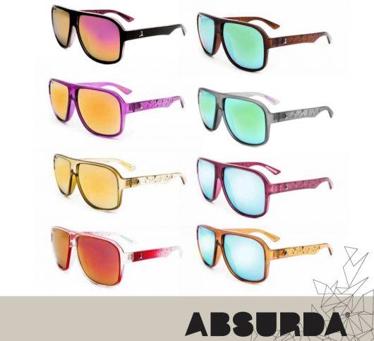 Linha de Óculos Absurda De Sol e de Grau Linha de Óculos Absurda: De Sol e de Grau