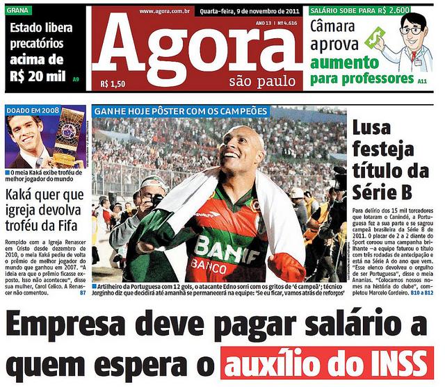 Assinar Jornal Agora São Paulo Assinar Jornal Agora São Paulo