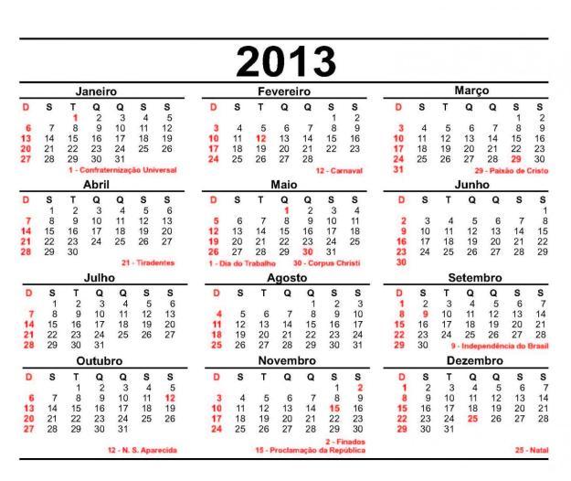 Calendário-2013-Feriados