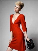 vestido para senhoras vermelho