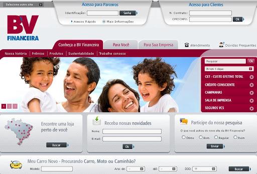 BV 252520FINANCEIRA BV Financeira, Empréstimos, Financiamentos e Cartão de Crédito