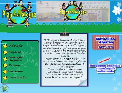 COLEGIO 252520PLANETA 252520ALEGRE Escolas Infantis em Santo André, Endereço e Telefone