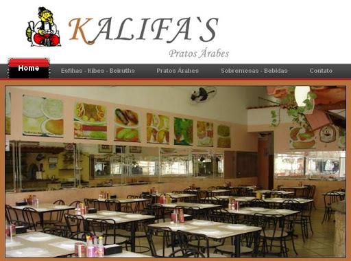 KALIFAS Restaurante Árabe em São Bernardo do Campo, Endereço e Telefone