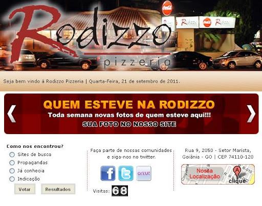 RODIZZO Pizzaria Rodizzo Pizzeria em Goiânia, Endereço e Telefone