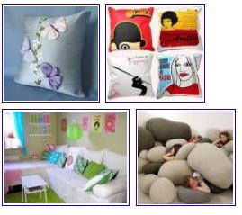 almofadas Almofadas na Decoração, Segredos, Cores e Ambientes Decorados