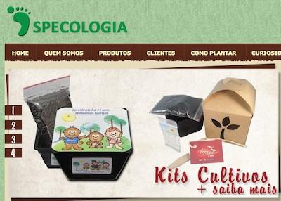 site sp ecologia SPEcologia, site de produtos verdes, sementes para fins ecológicos