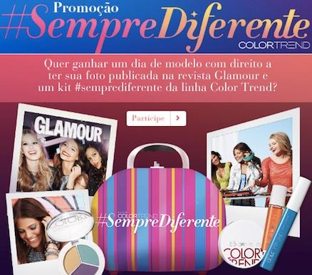 Promoção Color Trend Sempre Diferente