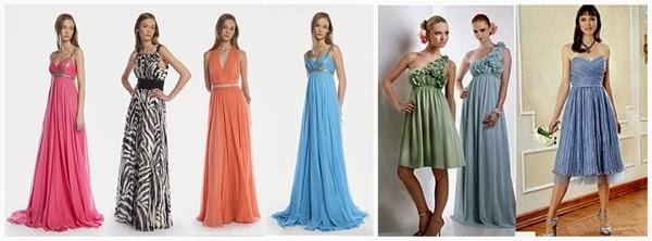 vestidos de casamento na praia ou jardim ar livre Melhores Cores de Vestido para ir a um Casamento
