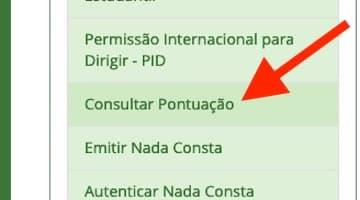 Detran CE Consulta de Pontos CNH 4