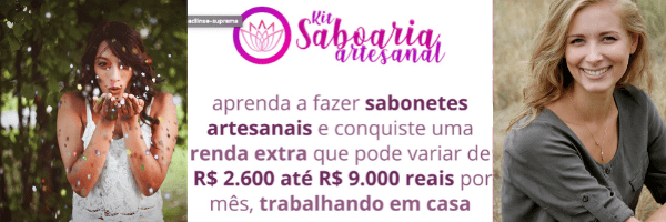 Kit Receitas de Sabonetes Artesanais