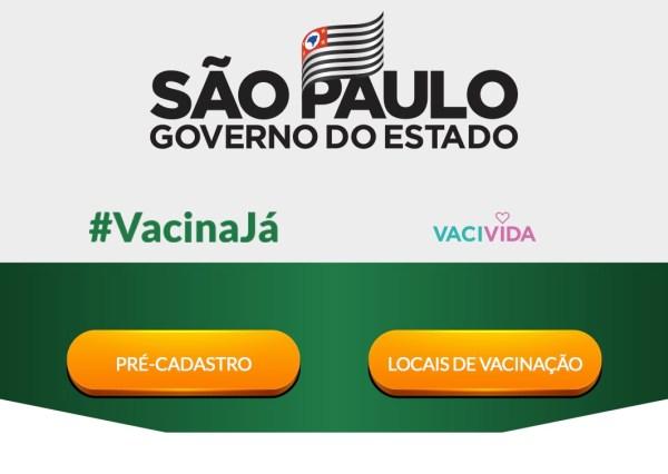 Vacivida Postos de Vacinação São Paulo