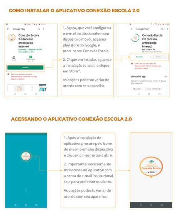 Captura de Tela 2021 03 24 às 09.56.35 Acessar Conexão Escola 2.0, estude em casa Web e App - MG