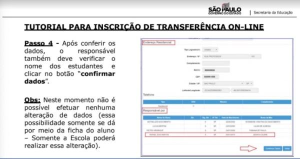 Captura de Tela 2021 03 25 às 10.03.53 Como fazer Transferência Online 2021 São Paulo