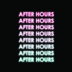 After Hours Summer/Fall 2021