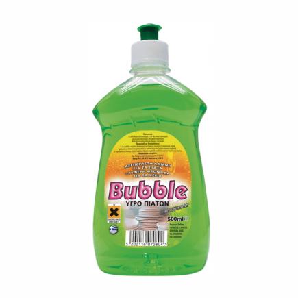 Υγρό πιάτων λεμόνι bubble 500ml