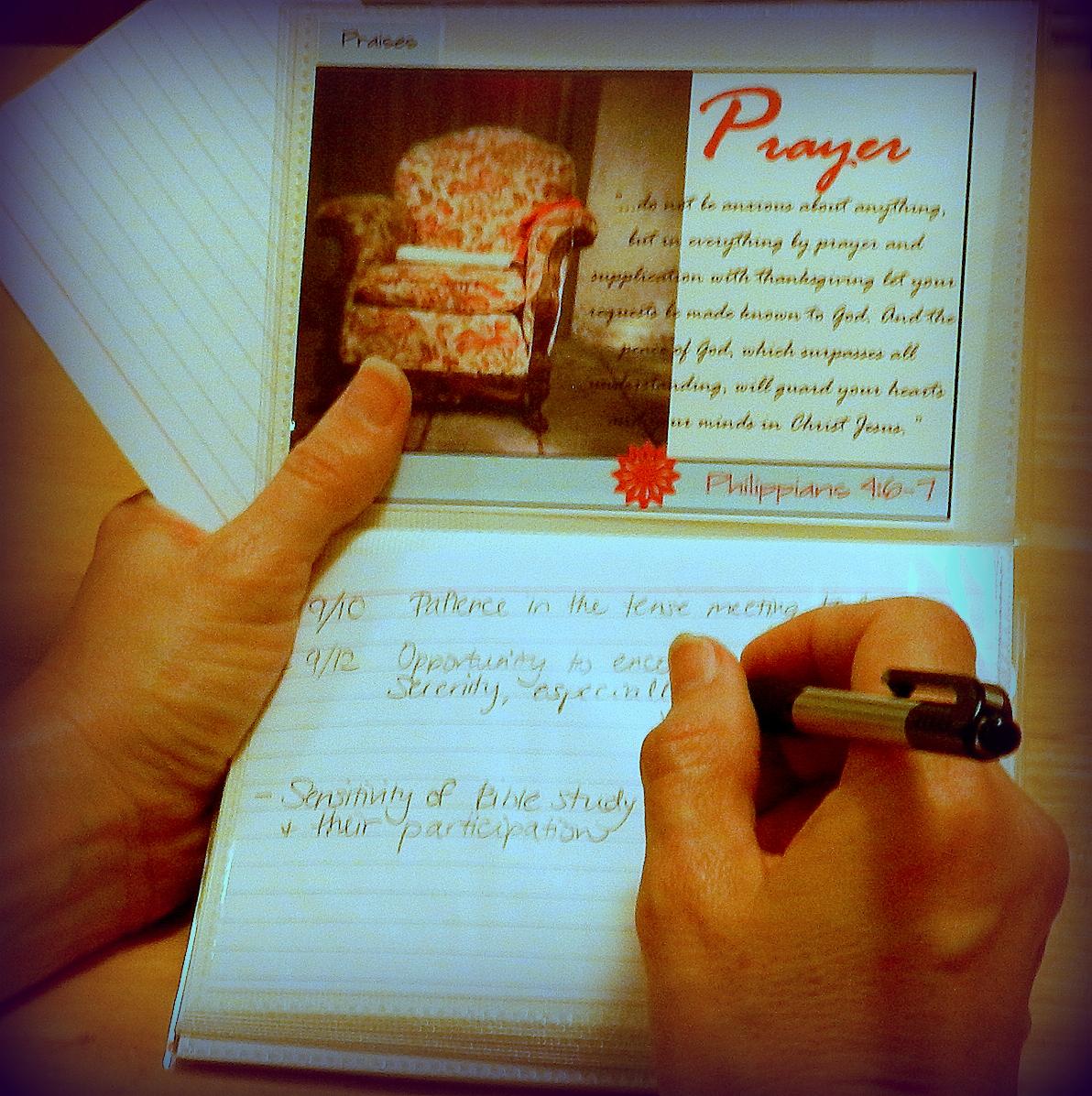 Bible Notebook Prayer Album For Women On The Go