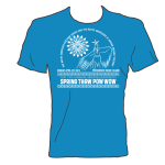 13th Annual Brown University Spring Thaw Powwow Shirt Mockup