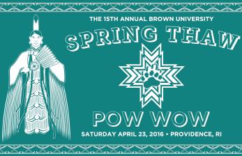 15th Annual Brown University Spring Thaw Powwow - Tshirt Design
