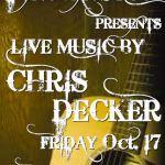 Live Music by Chris Decker