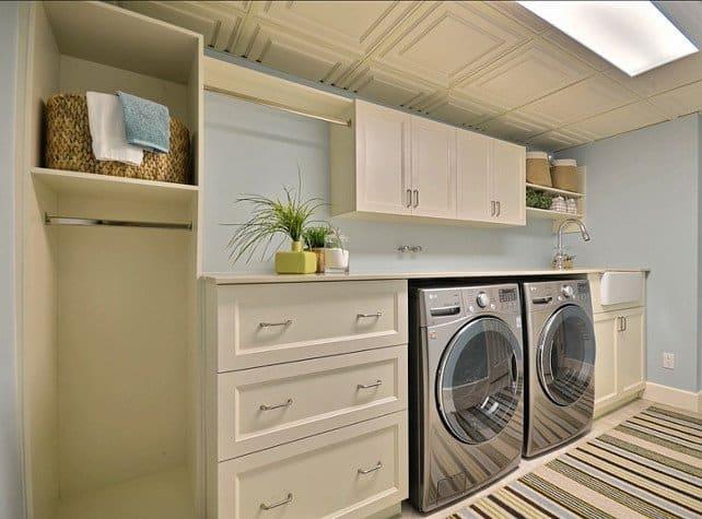 15 basement laundry room ideas make it