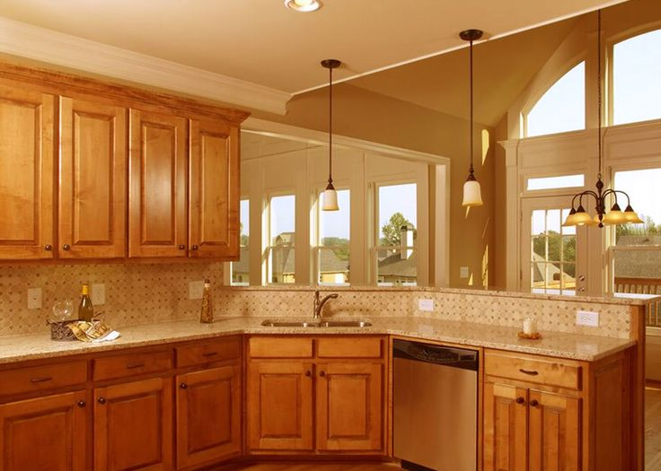 Corner Kitchen Sink Design Ideas / Remodel for Your ...