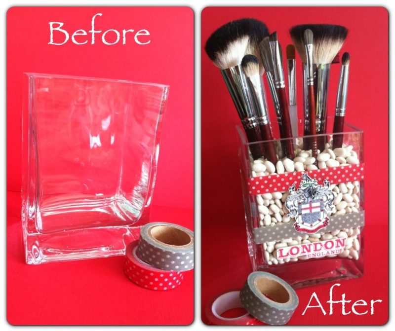 Diy Makeup Storage Shoe Box