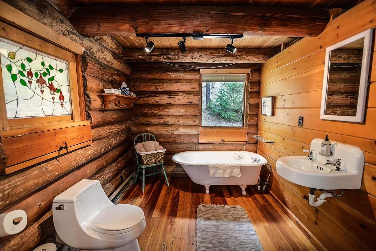 18 rustic bathroom design ideas that