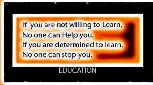 Determine to Learn