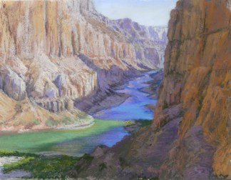 Grand Canyon 7 by Western pastel landscape artist Don Rantz