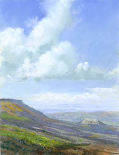 Grand Mesa View by Western pastel landscape artist Don Rantz