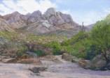 Pusch Ridge 3 by Western pastel landscape artist Don Rantz