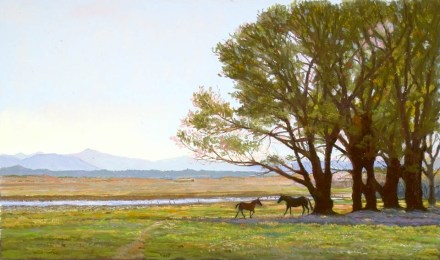 Simmons by Western pastel landscape artist Don Rantz