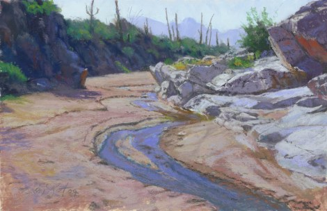 King's Canyon by Western pastel landscape artist Don Rantz