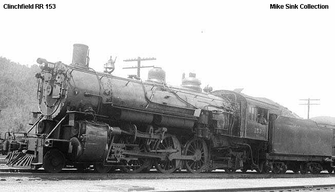 Clinchfield Rr Steam Locomotives