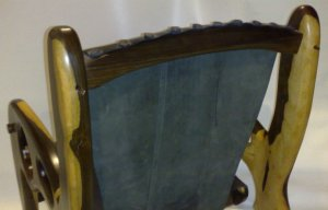 Original Elephant Lounge Chair - curved back-rail