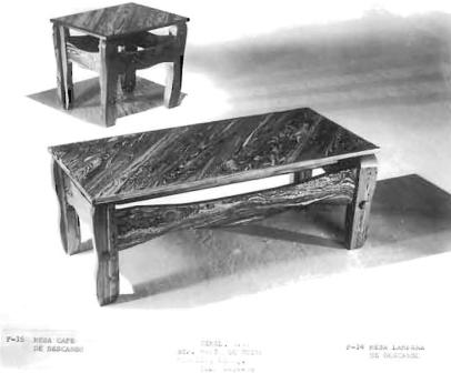 """Descanso Line – """"Descanso"""" Coffee Table and Lamp Tables"""